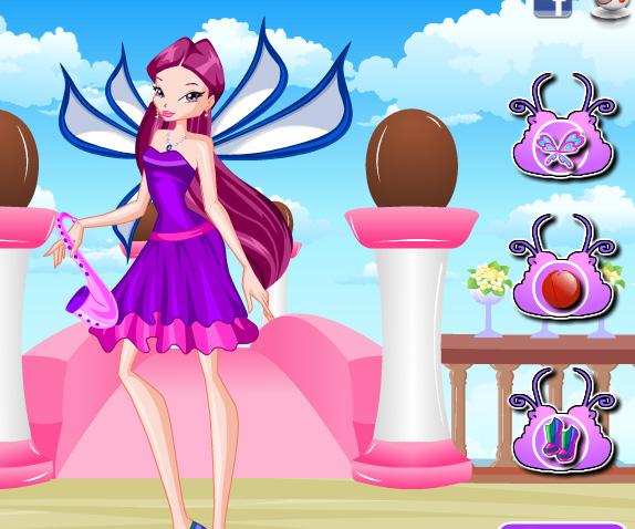 Roxy Lovix Style game online. Screen Shot 3