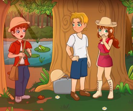 Safari Romance game online. Screen Shot 4