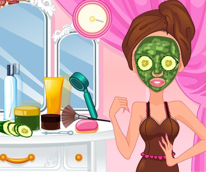 Sorority Girl Makeover game online. Screen Shot 2