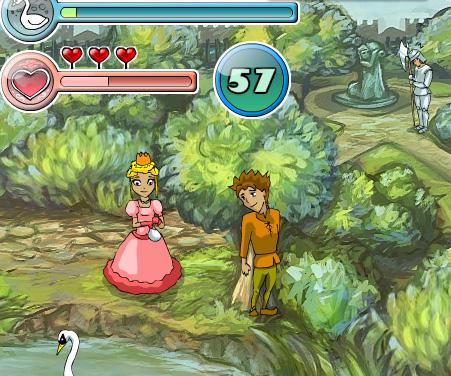 The Secret of Princess Vivian game online. Screen Shot 1
