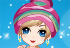 Winter Girl Fashion game online
