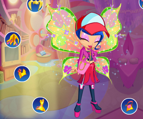 Winx Club Doll DressUp game online Girls games only