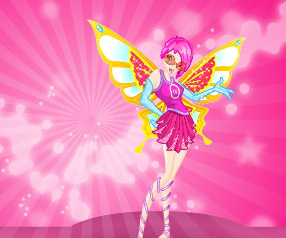 Winx Dress Up game online. Screen Shot 4