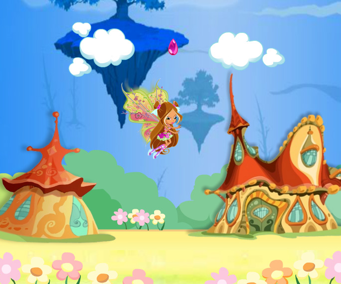 Winx Flora Believix game online. Screen Shot 1