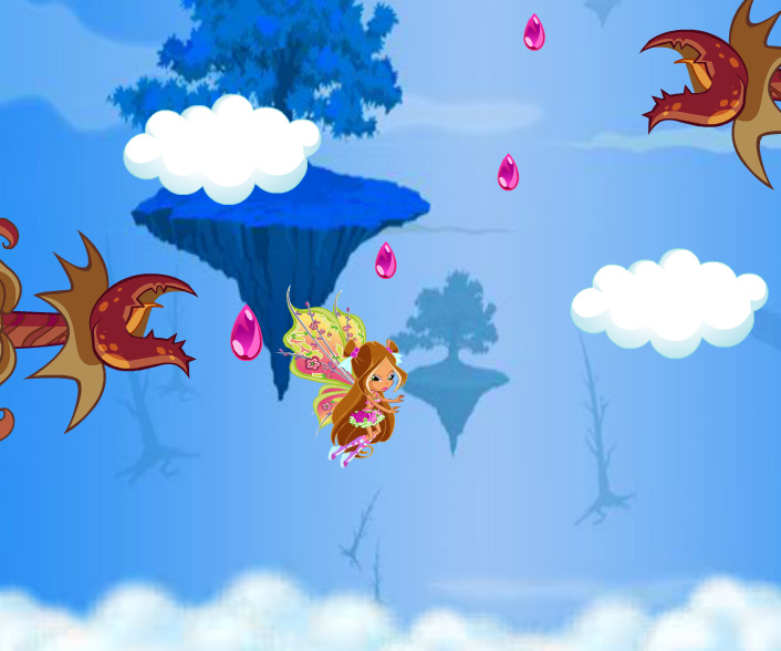 Winx Flora Believix game online. Screen Shot 3