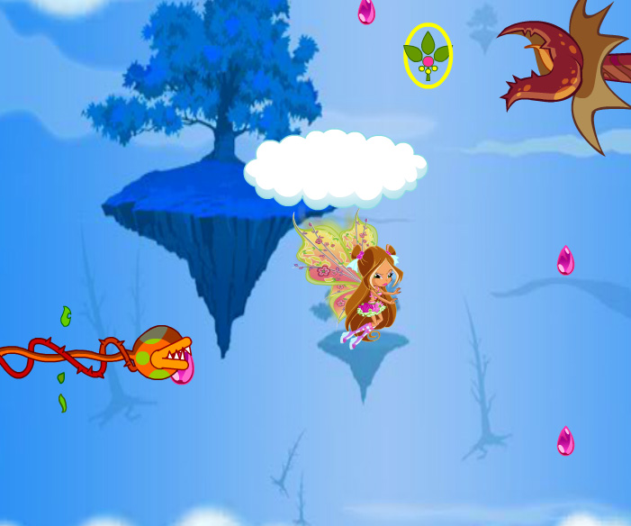 Winx Flora Believix game online. Screen Shot 4