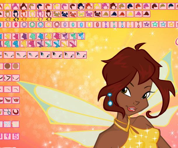 Winx Makeup game online. Screen Shot 3