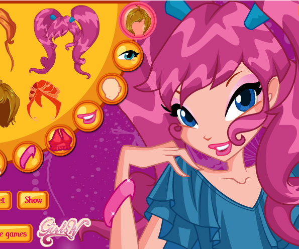 Winx Ready To Party game online. Screen Shot 1