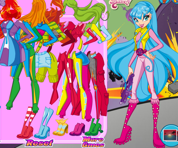 Winx Save the Day game online. Screen Shot 1