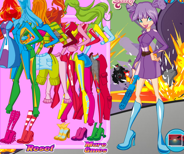 Winx Save the Day game online. Screen Shot 2