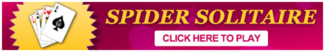 Play Spider Solitaire Online - Banner